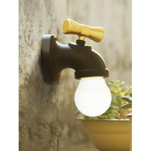 Smart Sound Induction USB Faucet LED Night Light - BLACK