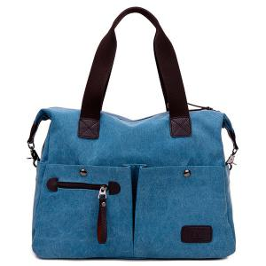 Multi Pocket Casual Large Tote Bag