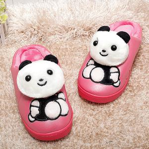 Cartoon Embroidered Slippers -