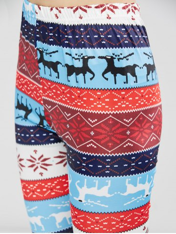 Buy Christmas Fawn Print Leggings - XL LITTLE FAWN Mobile
