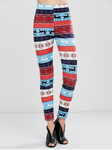 Shops Christmas Fawn Print Leggings - XL LITTLE FAWN Mobile