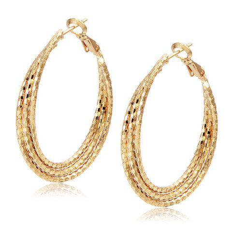Shop Carved Layered Hoop Earrings