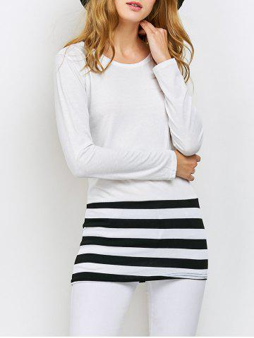 Online Striped Color Block Tee