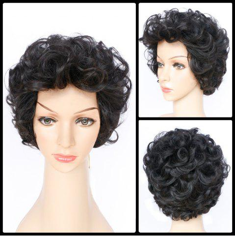 Online Short Shaggy Layered Wavy Synthetic Wig