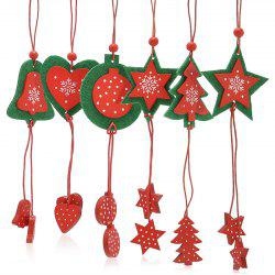 12PCS Christmas Tree Supplies Decoration Snowflake Hanging Pendants -