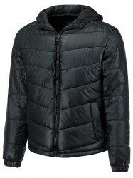 Slimming Hooded Thicken Down Jacket -