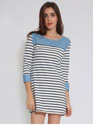 T-Shirt Tunic Striped Dress