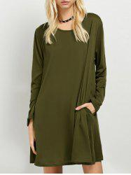 Long Sleeves T-Shirt Dress