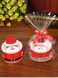 Christmas Decorating Supply Best Gift Santa Pattern Cupcake Towel