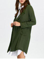 Long Lightweight Chiffon Coat
