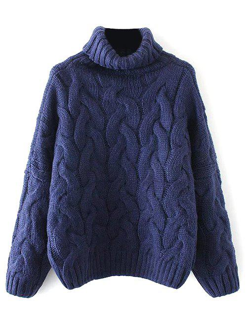 Sale Cable Knit Turtle Neck Sweater