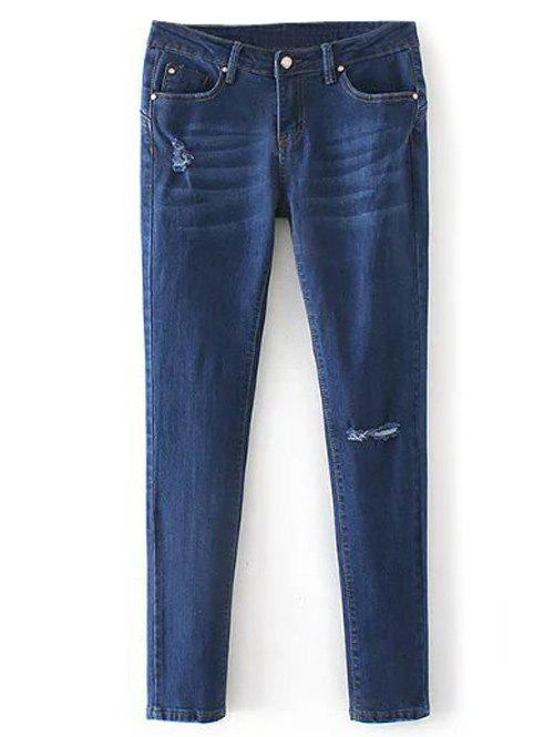 Buy Low Rise Destroyed Skinny Jeans