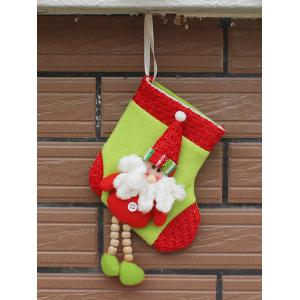 Merry Christmas Decoration Santa Claus Hanging Present Sock