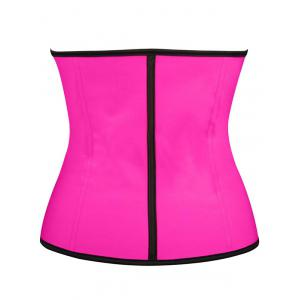 Steel Boned Underbust Corset - Rose Red - L