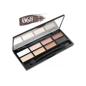 8 Colours Shimmer Matte Eyeshadow Kit - #06