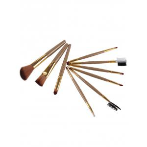 9 Pcs Multifunction Facial Makeup Brushes Set -
