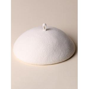 Concise Wool Felt French Beret -