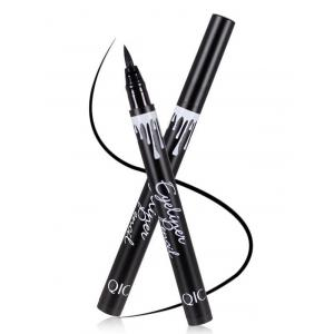 12 Pcs Quick Dry Waterproof Liquid Eyeliner Pencils - BLACK