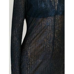 Semi Sheer Long Dress -