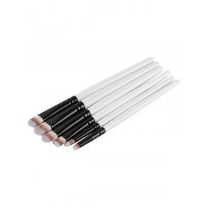 6 Pcs Eye Nylon Makeup Brushes Set -