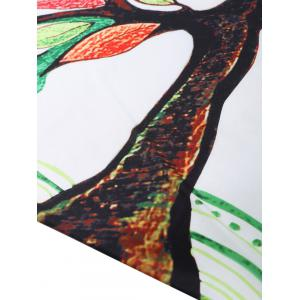 Colorful Tree Off Life Tapestry Beach Throw -