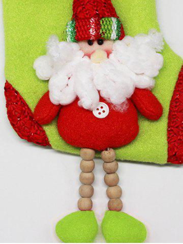 Unique Merry Christmas Decoration Santa Claus Hanging Present Sock - RED  Mobile
