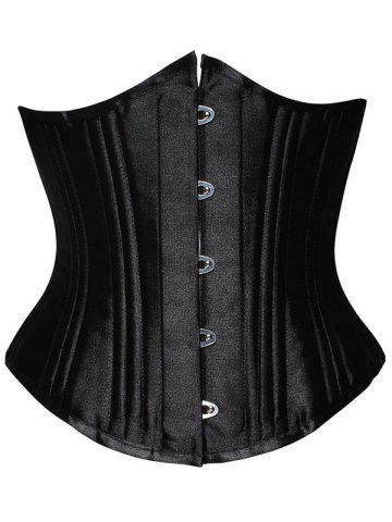 Chic Lace Up Steel Boned Underbust Corset