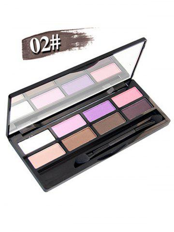 Chic 8 Colours Shimmer Matte Eyeshadow Kit - #02  Mobile
