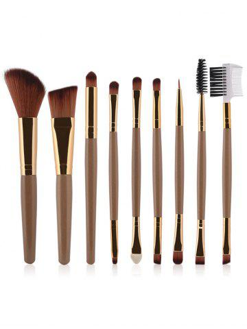 Hot 9 Pcs Multifunction Facial Makeup Brushes Set