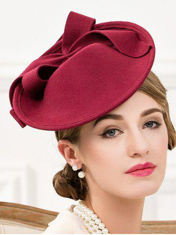 Outfit Formal Party Bowknot Felt Cocktail Hat