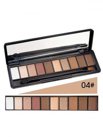 Discount 10 Colours Shimmer Matte Eyeshadow Kit