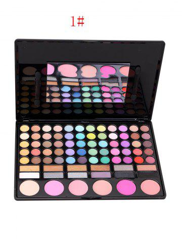 Outfit 78 Colours Eyeshadow Blush Makeup Kit