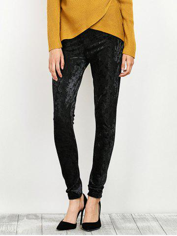 Store Velour Stretchy Narrow Feet Pants
