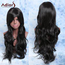 Adiors Side Bang Long Layered Natural Wavy Wig