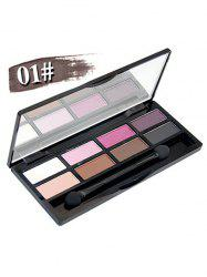 8 Colours Shimmer Matte Eyeshadow Kit -