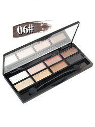 8 Colours Shimmer Matte Eyeshadow Kit
