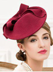 Formal Party Bowknot Felt Cocktail Hat