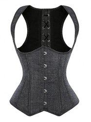 Lace Up Waist Slimming Corset