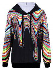 Colorful Paint Drip Hoodie