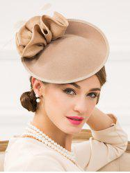 Vintage Feather Cocktail Hat -
