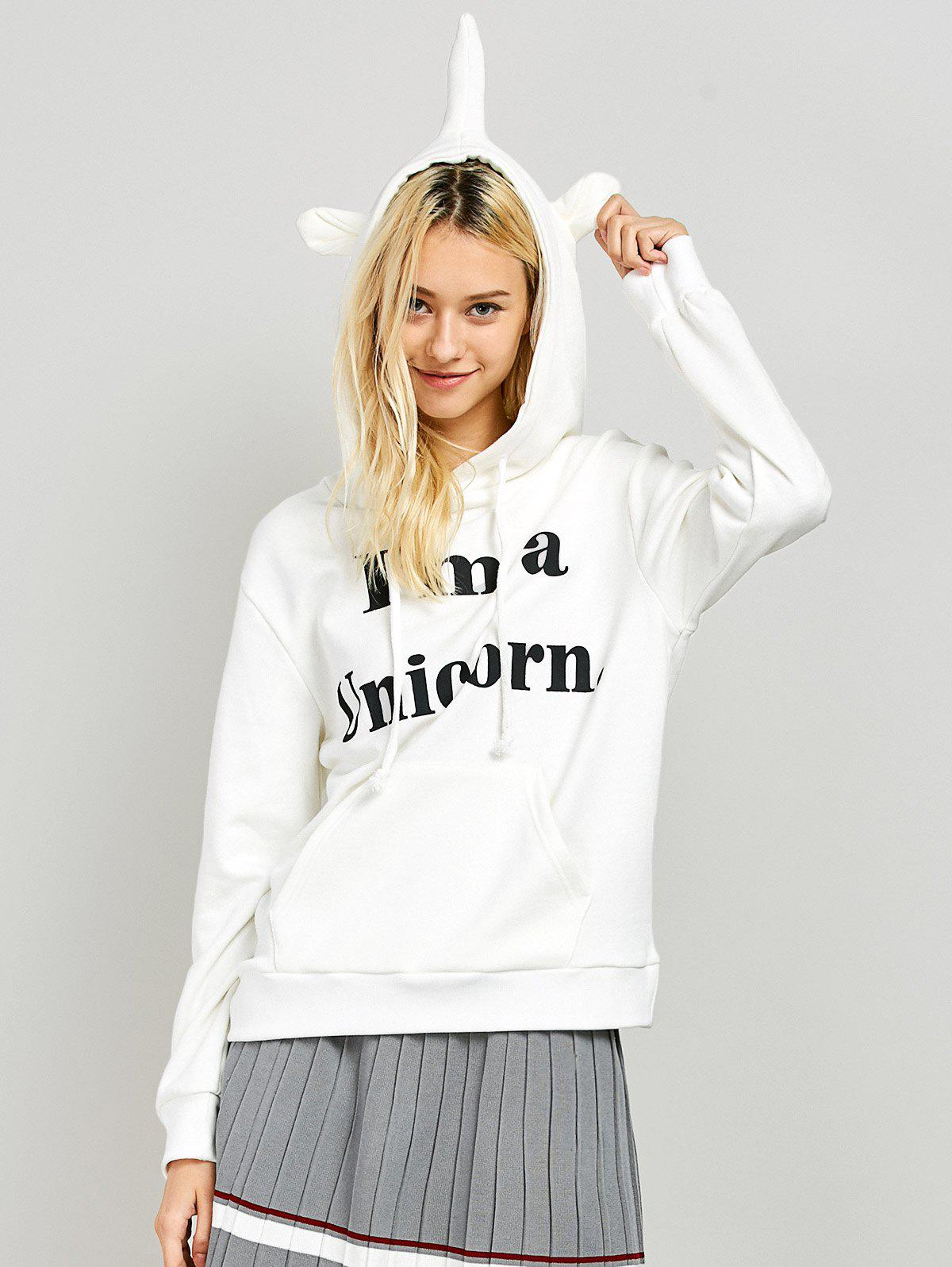 Outfits Unicorn Graphic Funny Hoodie
