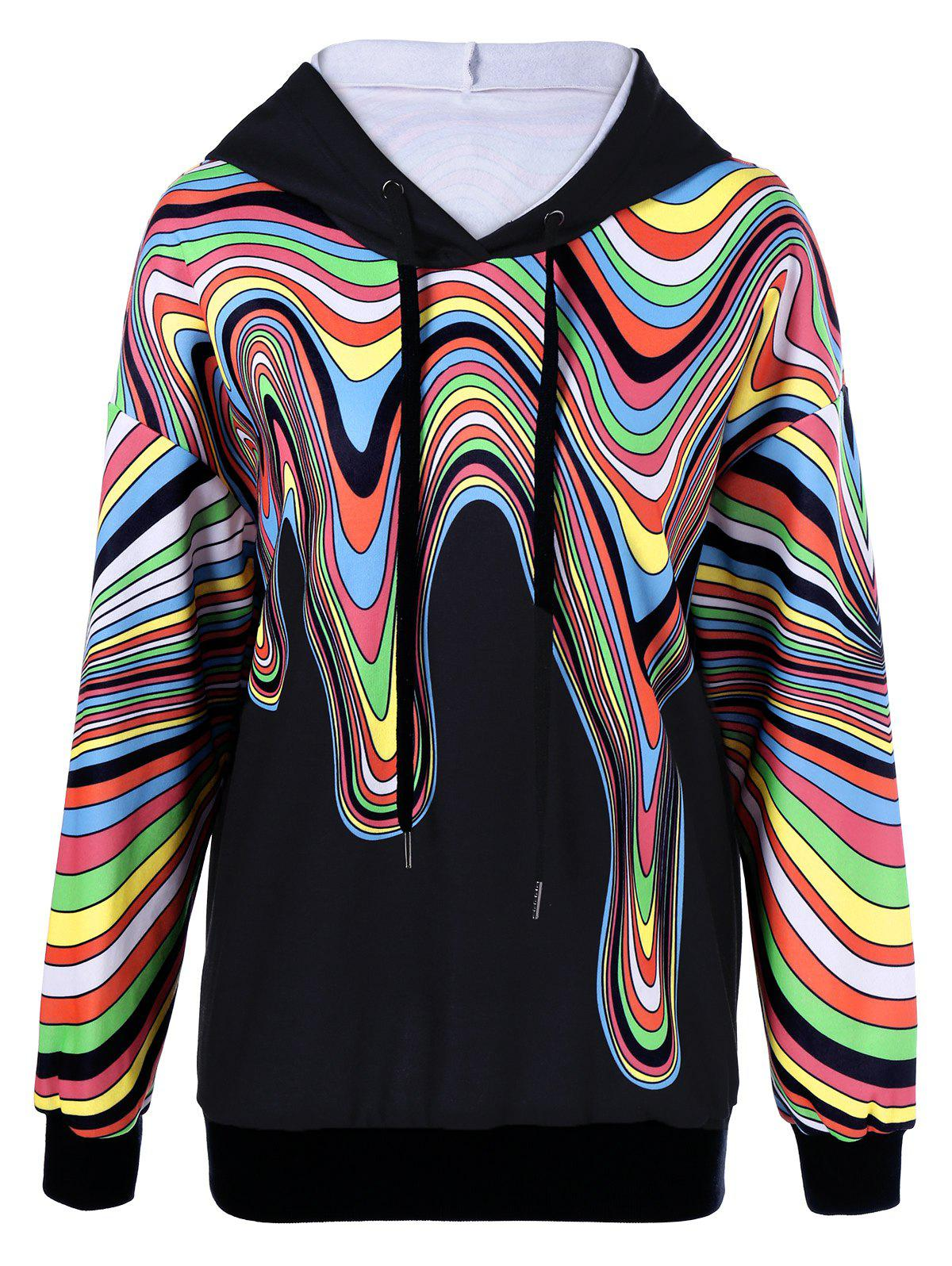 Latest Colorful Paint Drip Hoodie