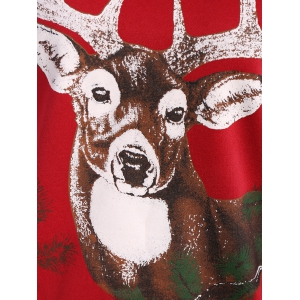 Sika Deer Christmas Sweatshirt -