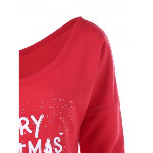 Merry Christmas And Happy New Year Sweatshirt - RED M