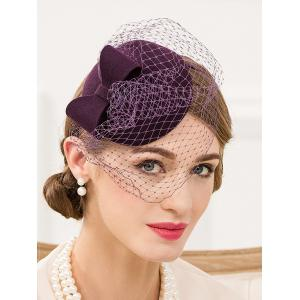Veil Pillbox Hairband Hat -