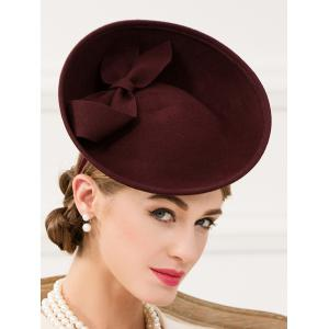 Bowknot Fascinator Cocktail Hairband Hat -