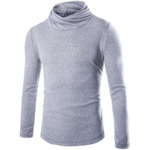 Slim Fit High Neck Pullover Knitwear