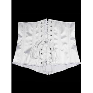 Lace-Up Underbust Steel Boned Corset -