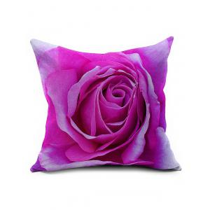 3D Rose Flower Throw Pillow Cover - Tutti Frutti - 45*45cm