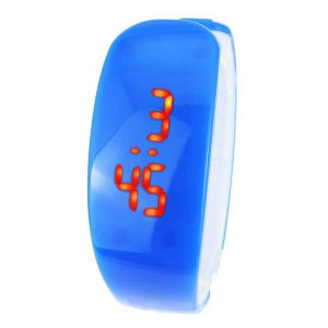 Plastic LED Digital Watch - Blue